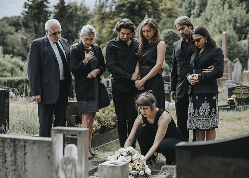 Funérailles à Aix-en-Provence
